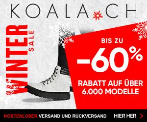 KOALA.CH Winter Sale: Bis zu 60% Rabatt auf Stiefel & Schuhe