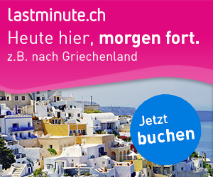 Lastminute.ch Banner