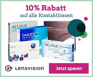 Kontaktlinsen bei Lensvision online bestellen