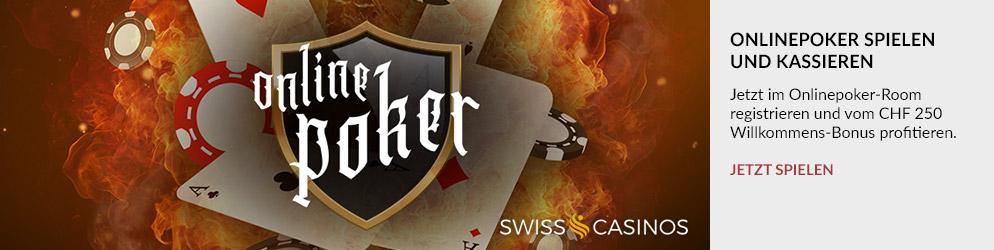Swiss Casinos Banner: Kostenlos registrieren und Startguthaben sichern